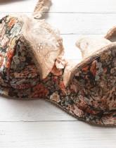 Бюстгальтер с полупоролоном 852 пион-оранжевый